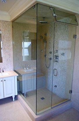 10 mm frame-less shower door