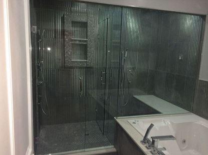 12mm Frameless Dual Shower Door