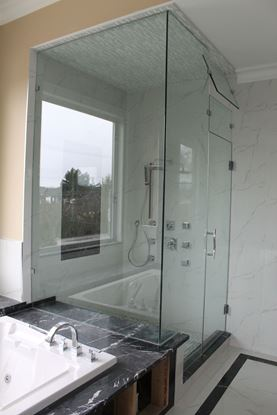10mm Frameless Steam Shower Door