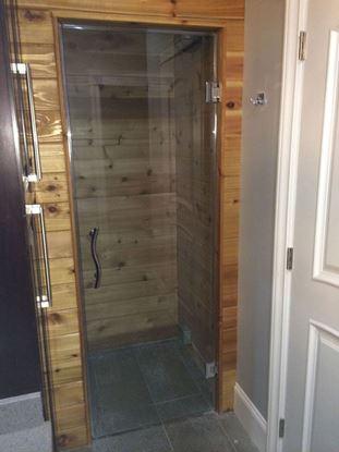 10mm Frameless Sauna Door