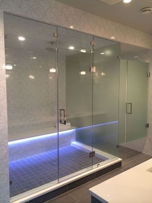 Frameless Steam Shower Door