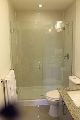 10mm Frameless Inline Shower Door