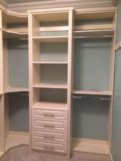 Wood Closet Organizers With Drawers ~ Elegant glass wood closet organizers with drawers