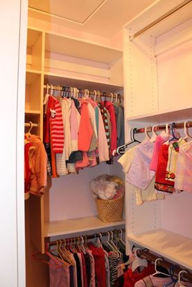 Wood Closet Organizer For Kids