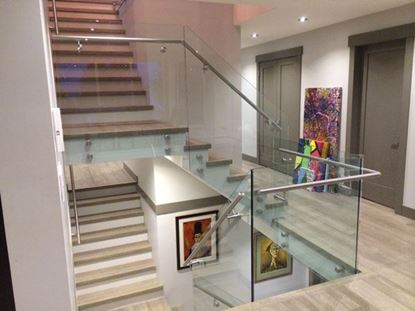 12mm glass Railing Inside